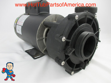 """Spa Hot Tub 56Fr Guangdong LX Pumps 2"""" X 2"""" 3.5HP 2 Speed 230V WUA Video How To"""
