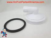 """Hot Tub Spa 2 1/2"""" Slip X 1"""" 90 Degree Barb Heater Union & Gasket How to Video"""