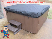 Spa Hot Tub CoverCap® Cover Cap 78x78 Viking Leisure Bay Made USA Video How To