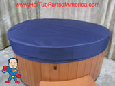 "Spa Hot Tub CoverCap® Cover Cap 84"" Round Nordic 82-86"" Made in USA Video How To"
