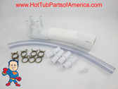 "Manifold Hot Tub Spa 2""spg x Dead End x (4)3/4"" Coupler Kit Video How To"
