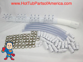 "Manifold Hot Tub Spa Part 24 3/4"" Outlets with Coupler Kit Video How To"