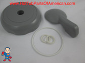 "Diverter Valve 4"" Kit Sundance® or Sweetwater Spa O-Rings Cap Handle Hot Tub"