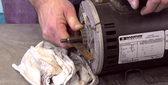 How To Video Cleaning a Rusty Shaft on a Hot Tub Pump Aqua-Flo Spa Guy