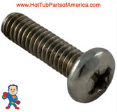Screw, WaterWay, Executive, E-Series,Hi-Flo,Viper,Workman,EX2, 8-32 x 5/8""