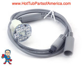 """LED Light, Sloan, 7 LED, Sequencing, 12V w/36"""" Daisy Chain Cable"""