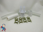 "Renu Manifold Kit Hot Tub Spa Part 1""Slip x (4) 3/4"" Ports to 1/2"" Water HotSpring Video How To"