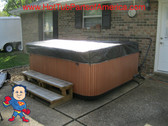 """Spa Hot Tub Cover Cap SunShield®  Custom any size up to 96"""" x 96"""" - Free Shipping"""