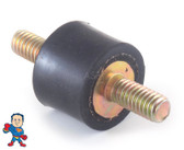 "Jacuzzi, Sundance, Pump Motor Base Assembly, Rubber, Vibration Dampener, 3/4""Thick, 5/16""Threads"