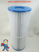 "Cal Spa Filter 25sqft 13-5/16"" Tall X 4-15/16"" Wide (2) 2 1/8"" Holes"
