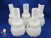 """5 Pack Waterway Hot Tub Jet Part 5"""" to 5 1/2"""" Repair Diffuser Video How to Spa"""