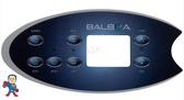 Overlay, Balboa, ML702, (2) Pumps, Blower, Light, Mode, Temp Up & Down