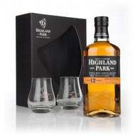 Highland Park 12YO 2 Glasses (70cl)