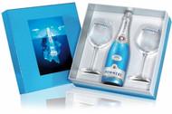 Pommery Blue Sky NV Gift Box + 2 Flutes (75cl)