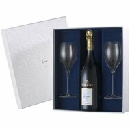 Pommery Cuvee Louise 2004 Gift Box With 2 Flutes (75cl)