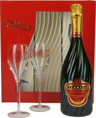 Tsarine Brut x 2 Glasses In Flute Pack (75cl)