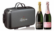 Lanson Black Label NV & Rose Label NV Perfect Traveller Bag (2x75cl)