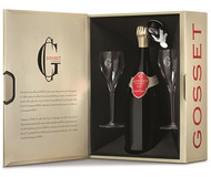 Gosset Grande Reserve NV Glass Pack (75cl)