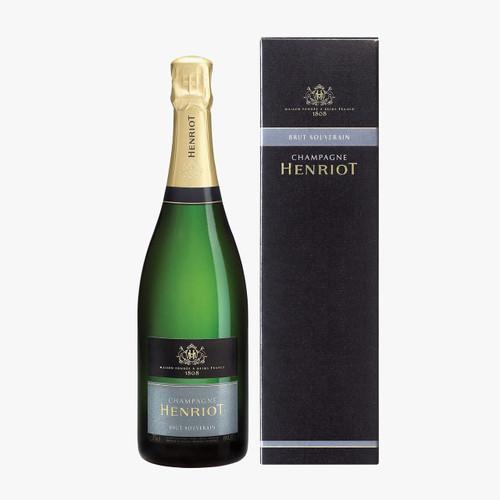 Henriot Brut Souverain 2017 In Gift Box (75cl)