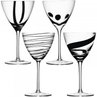 LSA Jazz Wine Goblet 420ml (Set of 4)