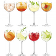 LSA Balloon Wine Goblet 525ml (Set of 8)