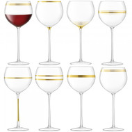 LSA Deco Wine Goblet 525ml (Set of 8)