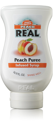 Peach Real Puree (6 x 50cl)