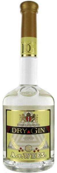 Van Wees Three-Corner Dry Gin Superior (50cl)