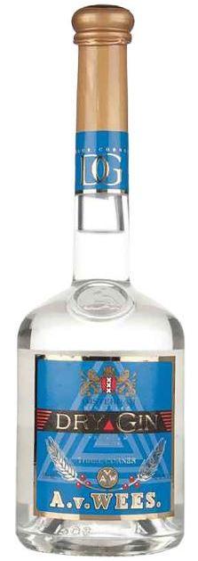 Van Wees Three-Corner Dry Gin Premium (50cl)