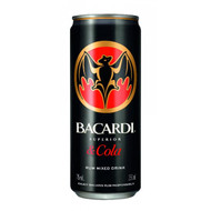 Bacardi Rum & Cola Can (250ml)