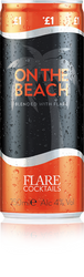 Flare Cocktails On The Beach Can (250ml)