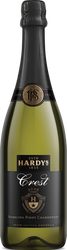 Hardy's Crest Sparkling Chardonnay Pinot Noir (75cl)