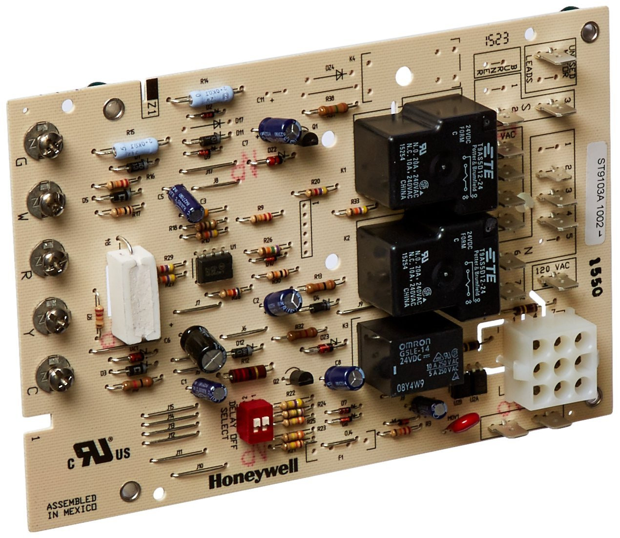 Honeywell St9103a1002 Fan Control Circuit Board Price 9169 Image 1