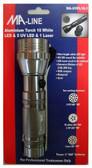 Aluminum Torch LED UltraViolet Light MA-UVFL15-1