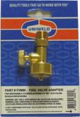 Acetylene Regulator to Propane Tank Adapter Uniweld FV600