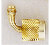 """Yellow Jacket 19209 Seal Right Quick Coupler - 90° x1/4"""""""
