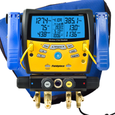 Fieldpiece SMAN440 Wireless 4-Port Digital Manifold W/Clamps