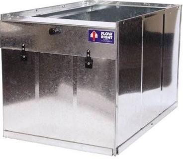 Flow Right 21 Quot Galvanized Return Air Filter Box Furnace