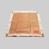 "DiversiTech 16510 Heat Resistant Barrier Cloth 18""x18"""