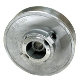 Dial 6149 Variable Zinc Pulley 3-3/4 x 1/2 Inch