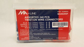 MA Line MA06295P 240 PC. Assorted Wire Connectors