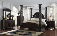 Corinthian Canopy Bedroom
