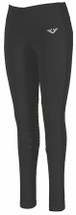 TuffRider Ladies Ventilated Schooling Tights - Black/Black