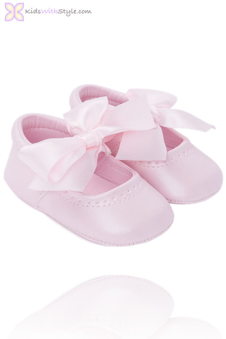 Baby Girl  Mary Jane Shoes Pink