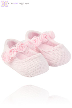 Baby Girl Pink Mary Jane Shoes