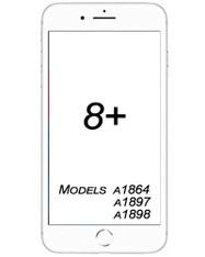 iPhone 8 Plus Broken Glass/ Digitizer Replacement service.