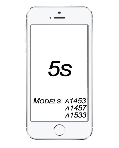 Apple iPhone 5S broken Glass Service.
