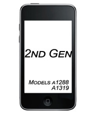 iPod Touch 2ng Gen Glass/Digitizer Replacement Service