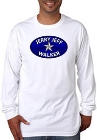 NEW! White Adult Long Sleeve Tee - Classic Logo - 100% Cotton - Made in USA
