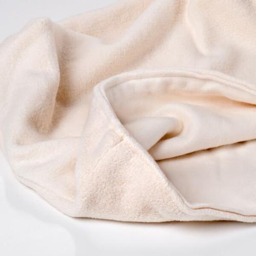 Large pet sleeping bag. Natural organic cotton sleep sac.  Reversible. Made in the USA
